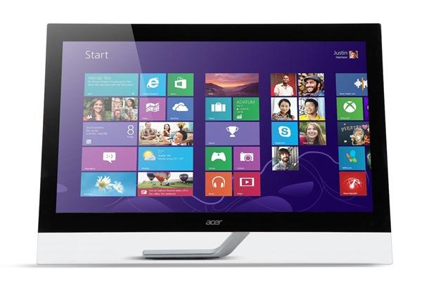Acer T272HUL с разрешением экрана 2560х1440