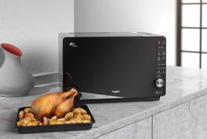 Hotpoint представила микроволновую печь Extra Space Crisp