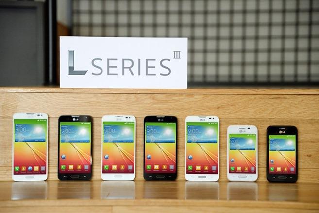 Смартфоны LG серии L