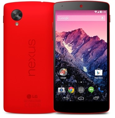 LG Nexus 5 in Red