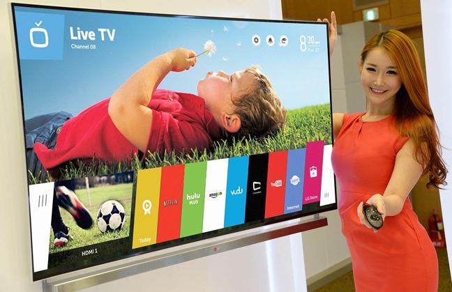 Телевизор LG с WebOS на борту