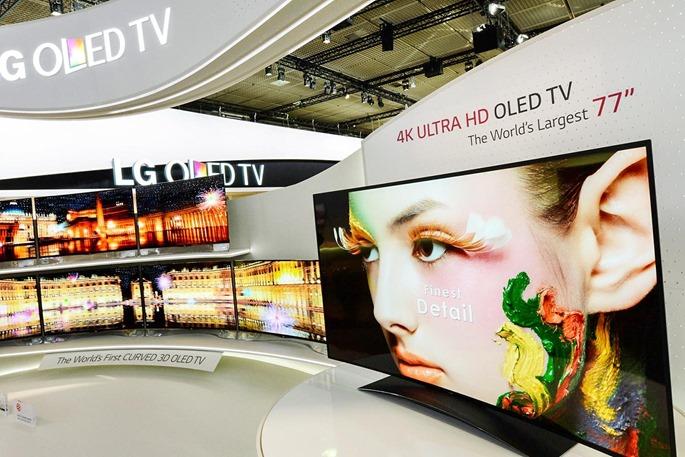 Телевизор LG Ultra HD 4K OLED