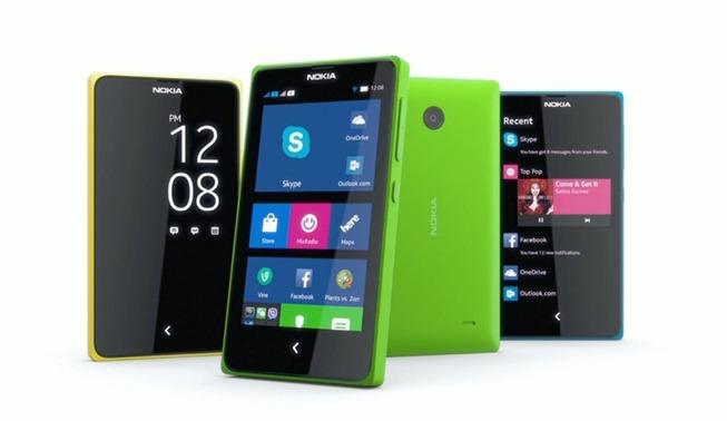 Смартфоны Nokia на платформе Android