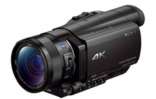 Видеокамера SONY Handycam FDR AX100E