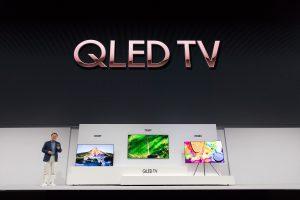 Samsung показала в Нью-Йорке новые телевизоры QLED