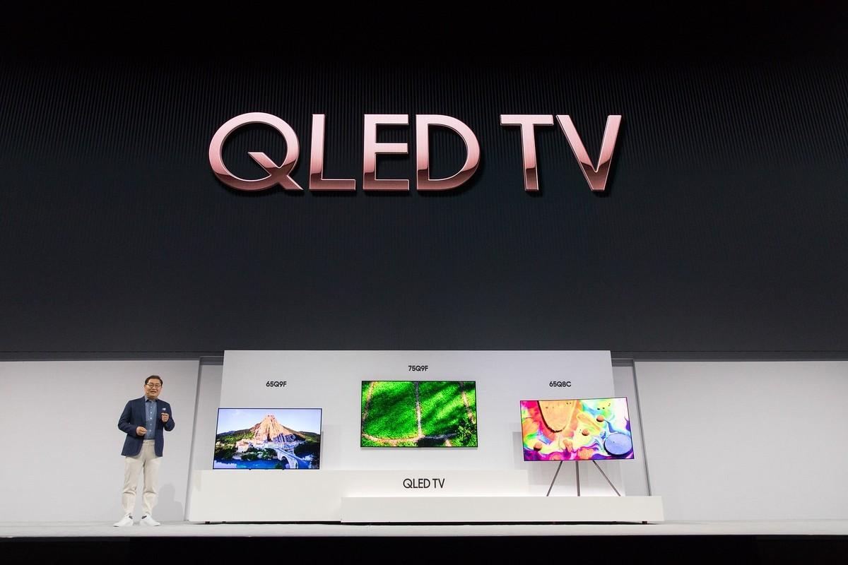 Презентация новых телевизоров Samsung QLED