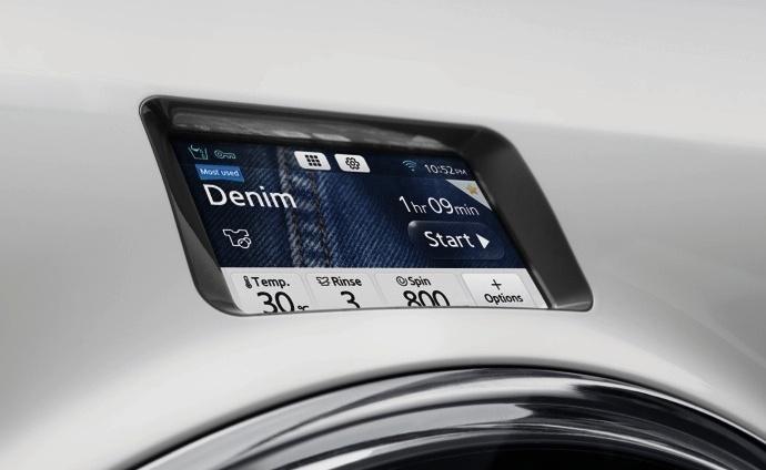 Экран управления стиральной машины Samsung WW9000