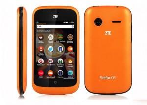 Компания ZTE расширяет парк Firefox-смартфонов