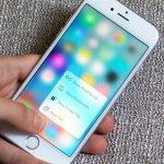 3D Touch в смартфоне Apple
