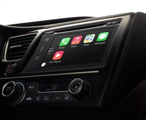 Система Apple CarPlay в автомобиле