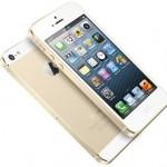 Apple iPhone 5s в золотистом корпусе
