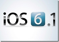 apple ios6 6.1