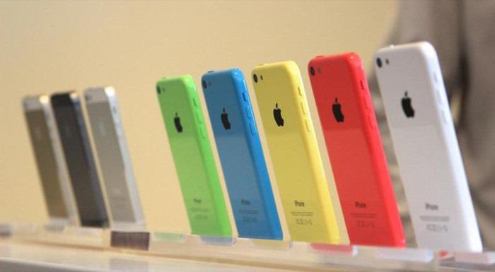 Конфигурации iPhone 5S и iPhone 5C