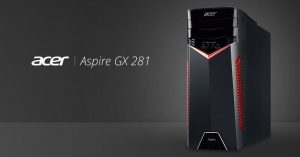 Acer Aspire GX-281 - настольные компьютеры еще актуальны
