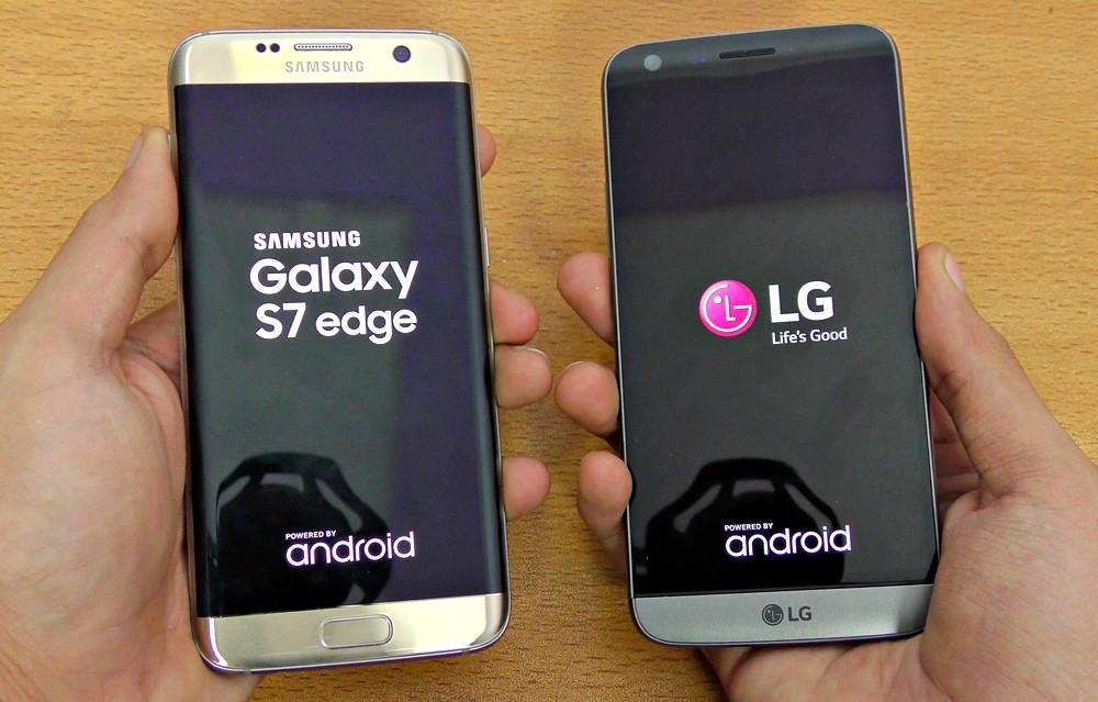Смартфоны Galaxy S7 и LG G5