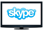 Panasonic ТВ плюс Skype равно TeleSkype?