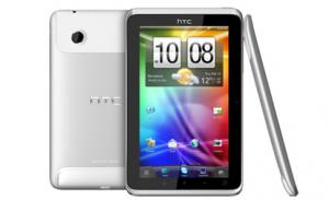HTC: планшет Flyer и пятерка новых смартфонов