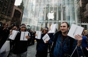 Первые дефекты Apple iPad 2