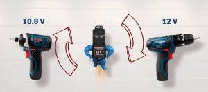 Двенадцативольтовый электроинструмент BOSCH
