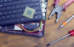 Самые распространенные неисправности ноутбуков