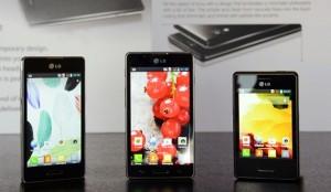LG представила смартфоны Optimus L Series II