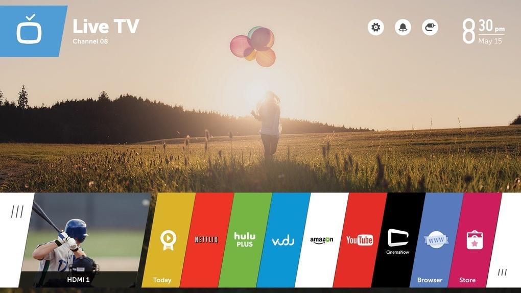 Телевизор LG с webOS