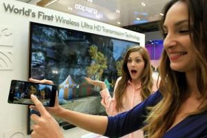 LG представила беспроводную технологию передачи видео с разрешением Ultra HD