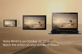 Nokia World October 2013