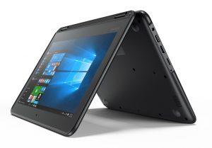 Новые ноутбуки Lenovo с сенсорным экраном