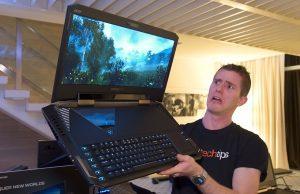 Acer представила невероятный игровой ноутбук с UHD