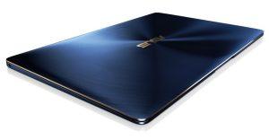 Ноутбук Asus Zenbook 3 в благородном синем