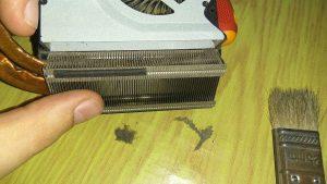 Чистим ноутбук от пыли - полная инструкция