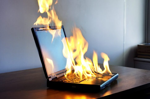 Что делать, если ноутбук сильно греется?