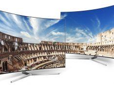 Телевизоры Samsung с изогнутыми экранами