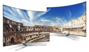 Samsung делает ставку на телевизоры с изогнутыми экранами