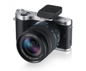 Samsung представила новую беззеркальную камеру NX300