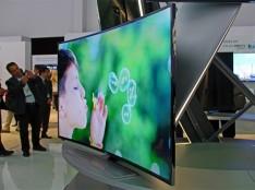 Телевизор Samsung с изогнутым экраном