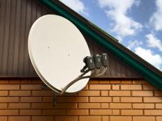 Спутниковая тарелка для домащнего ТВ