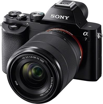 Фотокамера Sony α7 - полнокадровая беззеркалка