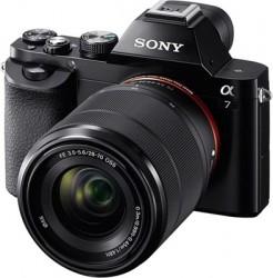 Долгожданные беззеркальные фотокамеры Sony α7 и Sony α7R