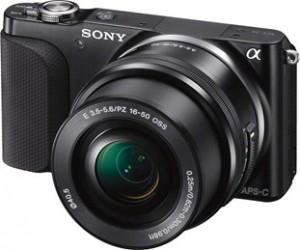 Sony NEX3 – самая легкая камера со сменной оптикой