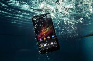 Смартфон Sony Xperia ZR для подводников