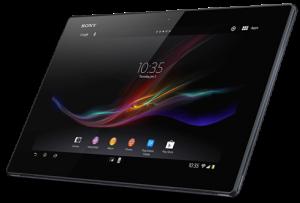 Sony анонсировала самый тонкий в мире планшет