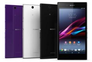 Тонкий и большой Sony Xperia Z Ultra