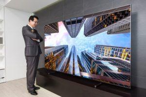 Samsung представил телевизор премиум-класса