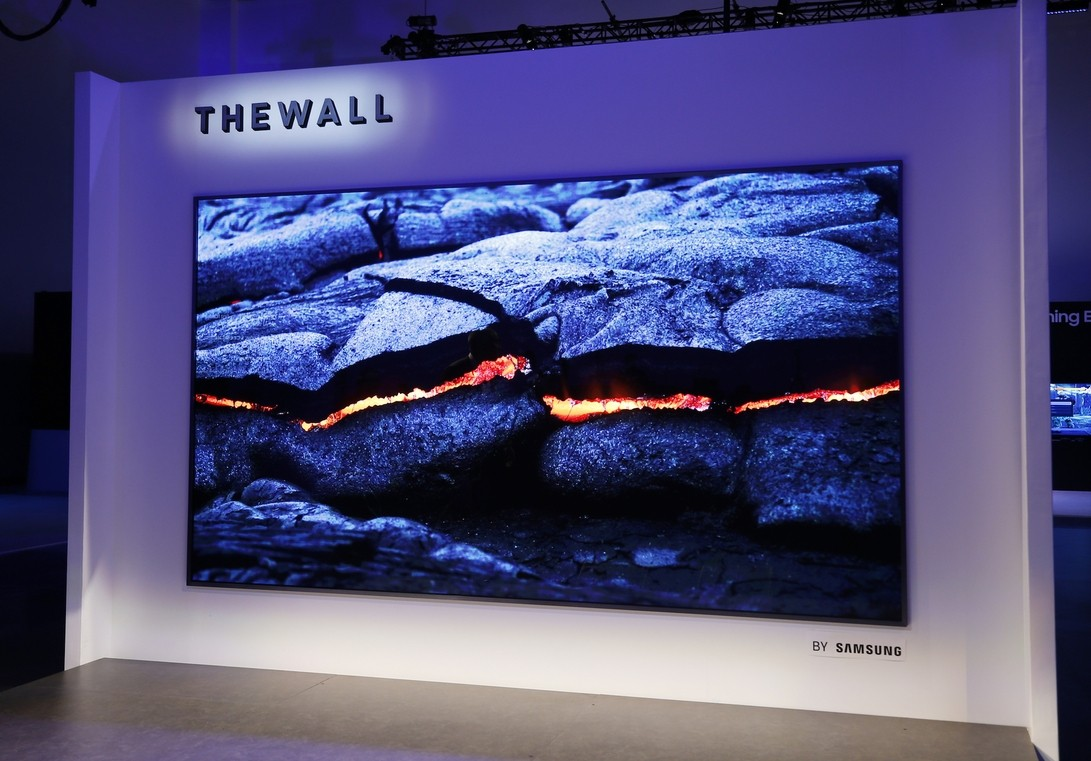 Телевизор Samsung THE WALL