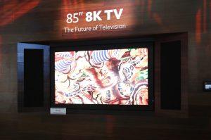Sharp разработала телевизор с разрешением 8K