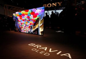 SONY начала продажи телевизоров с OLED-дисплеями