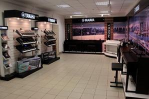 Салон Yamaha Premium открылся в Санкт-Петербурге